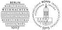 Weihnachtsmarke 2018 – Stempel