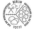 Wohlfahrtsmarken 2020 – Stempel Berlin & Bonn